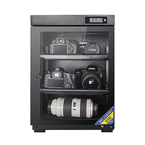 Armadio di essiccazione per deumidificazione della fotocamera, scatola elettronica a prova di umidità per uso domestico, archiviazione di apparecchiature elettroniche per lenti della fotocamera