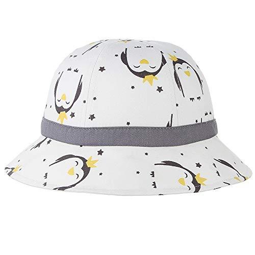 Xingyue Aile Sombrero de Copa y Gorras de Vaquero, Pescador Sombrero 2019 Niño Niña Linda Protector Solar, impresión de Dibujos Animados de Animales Sombrero de Sol, 49cm Tamaño