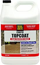 Floor-Tex Topcoat Clear Satin Sealer 1-gallon