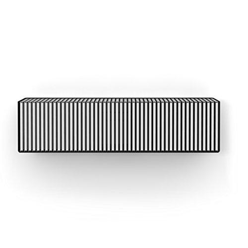home3000 CD-Designregal in Schwarz