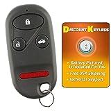 Discount Keyless Replacement Key Fob Car Entry Remote For Honda CR-V S2000 E4EG8DJ