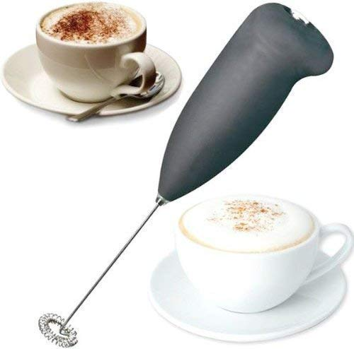 Parth Enterprise Milk Frother Electric Foam Maker Classic Sleek Design Hand Blender Mixer Froth Whisker Latte Maker for Milk, Coffee, Egg Beater, Juice, Cafe Latte, Espresso, Cappuccino, Lassi(Multi Color)