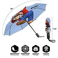 自動 スーパーマリオ (7) 折りたたみ傘 遮光 遮熱 紫外線対策 晴雨兼用 耐強風超撥水超 軽量み式 耐風撥水 晴雨兼用 遮熱 ゴルフ傘