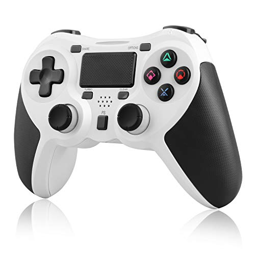 PS4 Controller Wireless,Molyhood Playstation 4 Controller Dual Vibration Gamepad Joystick for Ps4/Pro/Slim