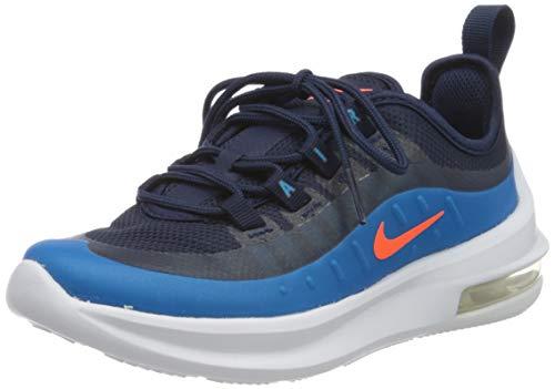 Nike Air Max Axis (PS), Scarpe da Corsa, Midnight Navy/Hyper Crimson/Laser Blue, 35 EU