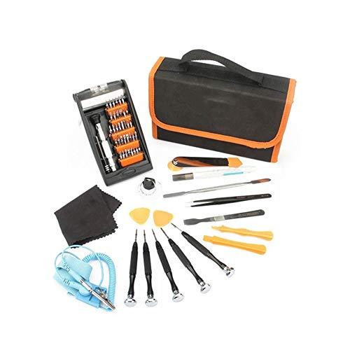 CPH20 Juego de destornilladores de 54 piezas para reparación de teléfonos portátiles, consolas de juegos y electrónica