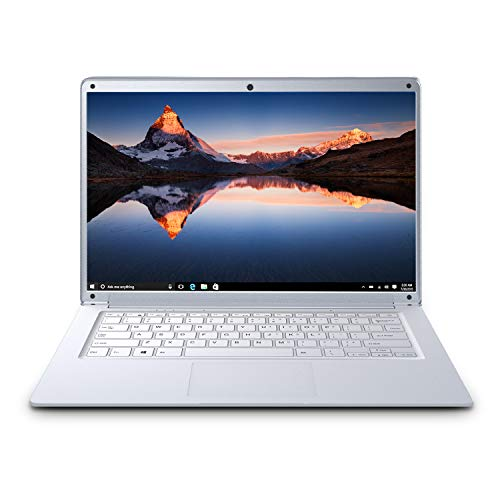 Ordenador Portátil 14.1 Pulgadas, Windows 10, 2GB RAM 32GB eMMC, 1920x1080 píxeles Full HD Tarjeta TF de 500GB, WiFi Notebook Intel PC Laptop (Sliver) (Yin)