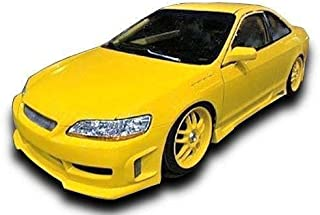 KBD Body Kits Compatible with Honda Accord ALL 1998-2002 BW Spec Style 1 Piece Flexfit Polyurethane Front Bumper. Extremely Durable, Easy Installation, Guaranteed Fitment, Made in the USA!