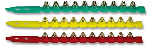 Hilti Powder Actuated Fastener Cartridge - .27 6.8/11 M Short - Strips of 10 - Green - Light - Pack of 100 - 50351