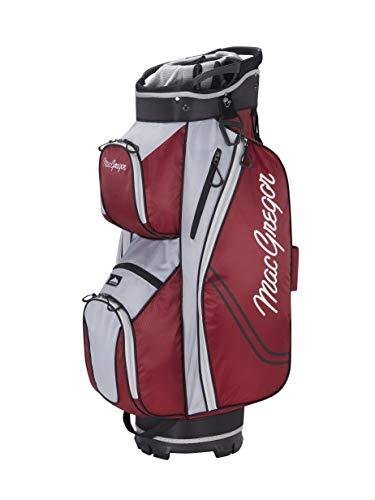 "MacGregor Golf MACBAG137 Response ZT LITE 10\"" Inch Golf Club Cart Bag, Burgundy"
