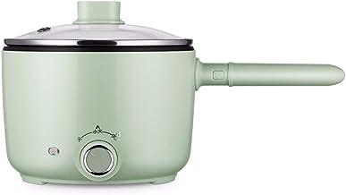 SLFPOASM Wok électrique Ménage Multifonction Cuisson Wok Hot Pot Cuisinière électrique Dortoir étudiant Pot Cuisson Intégré