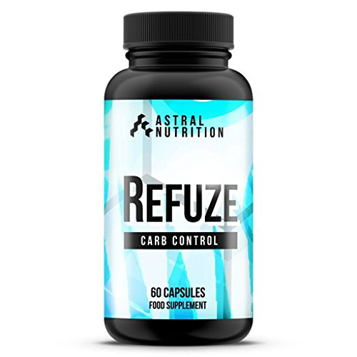 Refuze Carb Blocker - 1 Month Supply | Max Strength Carbohydrate Inhibitor | Advanced Weight Loss Formula