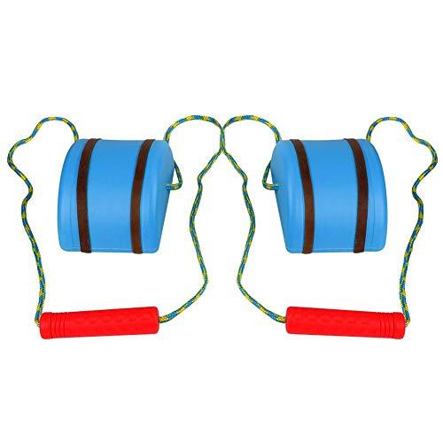 VGEBY1 Los zancos , el Equipo de los zancos Que saltan la Placa de los Pasos Equilibrio Caminan los zancos de los niños Que entrenan el Juguete de la balanza Juguete de la educación física