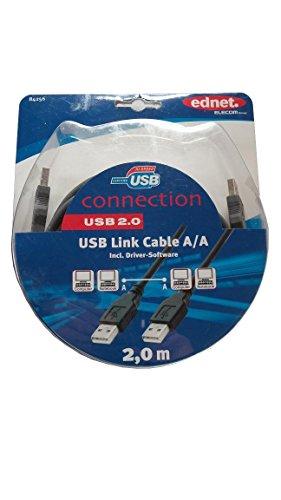 ednet USB High-Speed-Link-Kabel