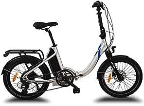 URBANBIKER Bicicleta eléctrica Plegable Mini, con batería de 36v y 14 A (504. WH) Frenos hidráulicos Shimano y Cambio Shimano Altus