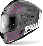 Airoh Helmet Spark Cyrcuit Pink Gloss Xs
