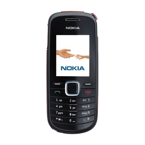 Nokia 1661 Black (UKW-Radio, Organizer, Spiele) Handy
