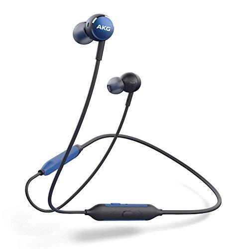 AKG Y100 WIRELESS Bluetoothイヤホン カナル型/AAC/アンビエントアウェア/3ボタンリモコン/通話マイク付き ブルー AKGY100BTBLU 【国内正規品/メーカー保証1年付き】