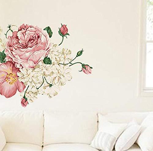 DTGSD Fotobehang-Muursticker Tuin Zonnebloem Mooi Landschap Decoratie Wandafbeelding 45x60 Cm