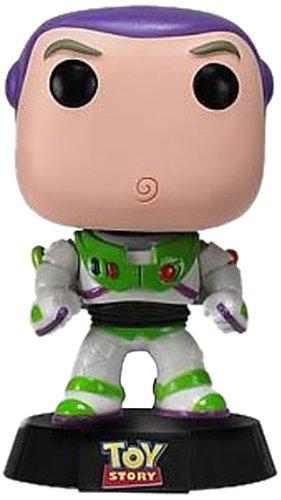 Funko 2343 - Pop, Buzz Lightyear, Figura de Vinilo, 10 cm (FUNVPOP2343) - Figura Head Buzz Lightyear (10 cm)