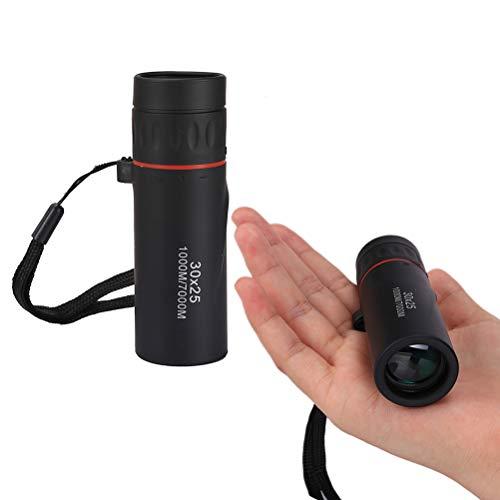 HD Monokular Teleskop, 30x25 Monokular Fernglas mit Nachtsicht 7X Bereich für Camping Vogelbeobachtung Reisen Tiere Jagd Reise