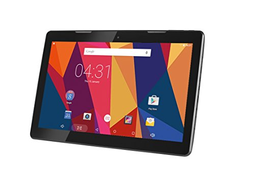 Hannspree HANNSpad 133 Titan 2 16GB Black Full Size Android Tablet Black Android Slate Lithium Ion