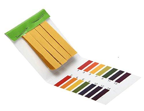 2 Packs PH 1-14 Test Paper Litmus Strips Tester, 80pcs Per Pack