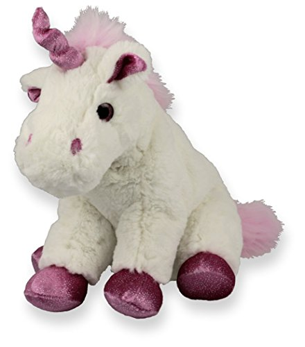 Inware–Unicornio, diferentes tamaños, color blanco, peluche,–Peluche
