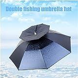 YUI Augmenter Le Chapeau de Parapluie de Couvre-Chef de pêche, Pliant épais Ultra-léger...