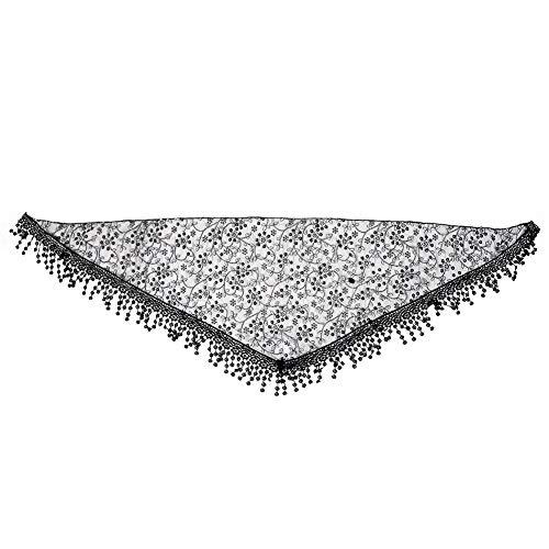 Pasgeboren fotografie rekwisieten modieuze achtergrond plafond met hoofdband kwast wrap sjaal voor jongens meisjes zwart