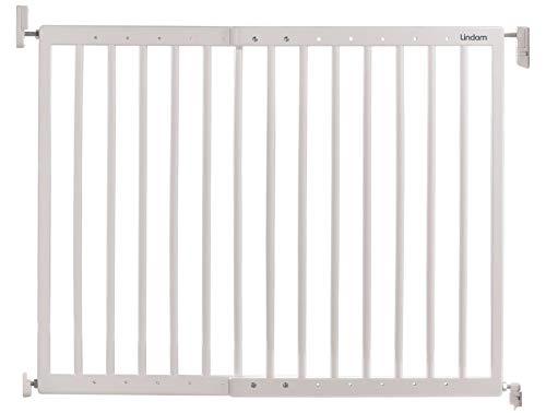Lindam Wall Fix Push to Shut Porte de sécurité en métal extensible