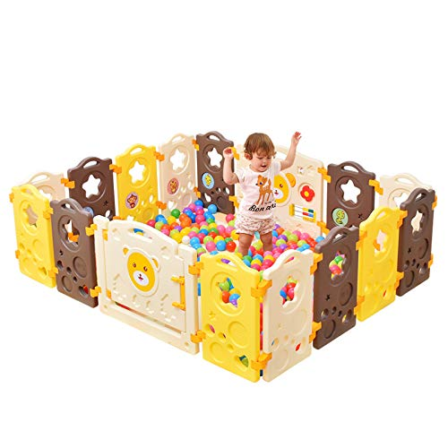 Fantastic Deal! L.HPT Kids Childrens Christmas Toys Gift Baby Fence Playpen Fun Activity Panel Brigh...