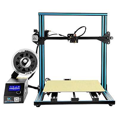 Creality 3D Printer CR-10 S4 with Filament Monitor Dual Z Rod Screws 400x400x400mm