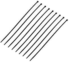 Poly Pool PP0308 Cable Ties for Electrical Equipment 2.5 mm x 100 mm Clamping Diameter 2 to mm Pack of 100 White