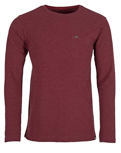 Ternua Camiseta Gudur LS T-Shirt M Hombre, Rumba Red