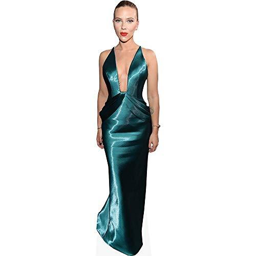 Celebrity Cutouts Scarlett Johansson (Blue Dress) Pappaufsteller lebensgross