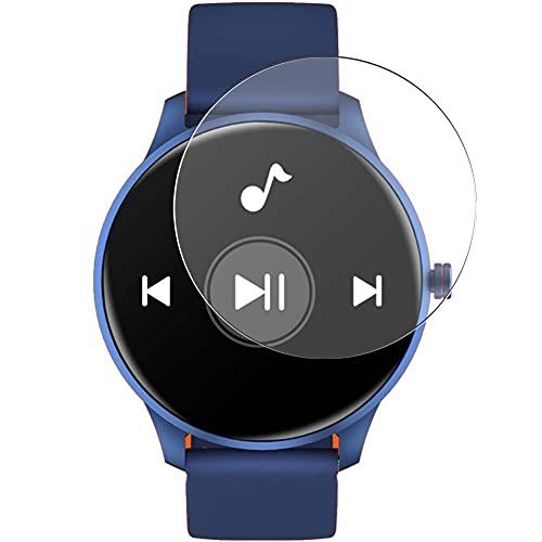 Vaxson 3 Unidades Protector de Pantalla de Cristal Templado, compatible con CUBOT W03 1.28' Smartwatch Smart Watch, 9H Película Protectora Film Guard [No Carcasa Case ]