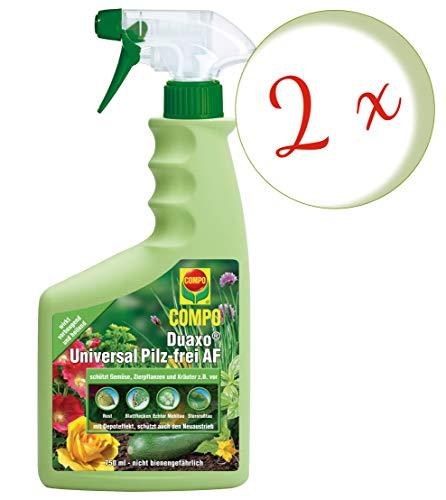 Compo Duaxo Universal Pilz-Frei AF, Bekämpfung von Pilzkrankheiten an Zierpflanzen, Gemüse und Kräutern, Anwendungsfertig, 1500 ml