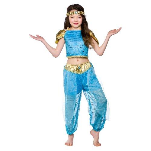 Ragazze arabo principessa Costume di Halloween taglia grande 8-10 anni (134-146cm)