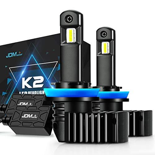 JDM ASTAR K2 High Performance 1:1 Design H11 H8 H16 Bright White Light Output Upgrade Vision LED Headlight Bulbs/Fog Light Bulbs