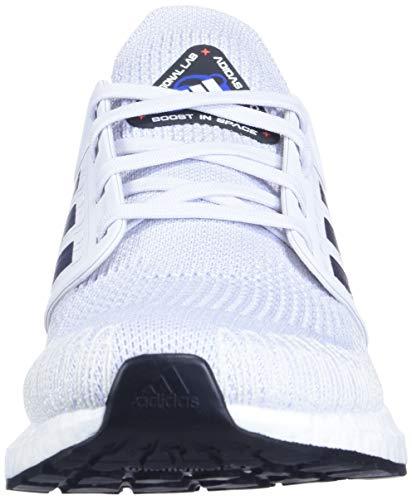 adidas - Zapatillas de correr Ultraboost 20 para mujer, gris (Dash Gris/Boost Azul Violeta Metálico/Negro), 44 EU