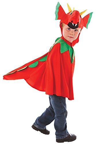Amscan - Disfraz de dragón para niño, talla 3-5 años (994994)