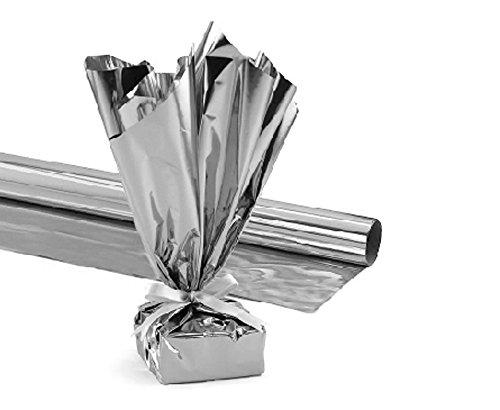 PVC Mylar 48 Ft X 100 Ft Silver