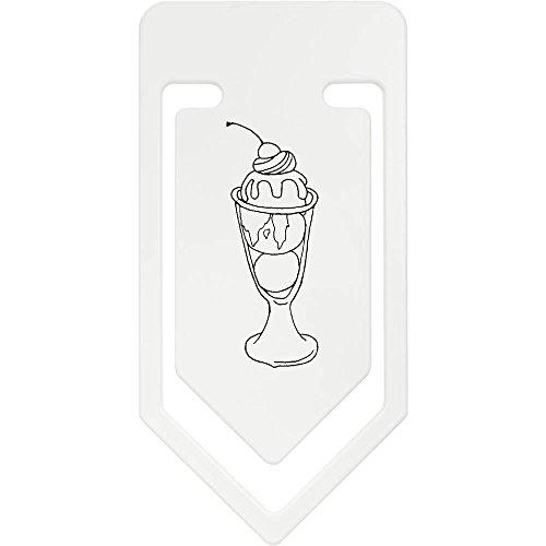 Azeeda 141mm 'Eisbecher' Riesige Plastik Büroklammer (CC00035492)