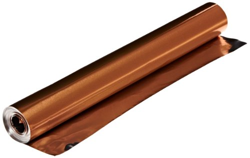 St Louis Crafts 38 Gauge Aluminum Foil - 12 Inches x 25 Feet - Copper Roll Only