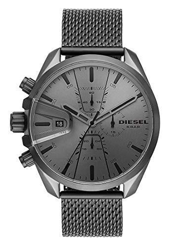 Diesel Herren-Uhren Quarz One Size Grau 32012430