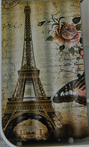 digesman Rideau de Douche – Mer Motif Poisson – 180 x 180 cm