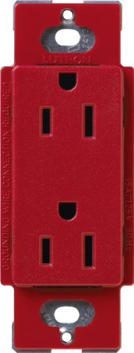 Lutron SCR-20-HT Satin Colors 20-Amp Receptacle, Hot