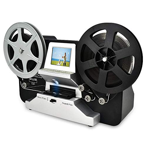 Discover Bargain 8mm & Super 8 Reels to Digital MovieMaker Film Sanner,Pro Film Digitizer Machine wi...