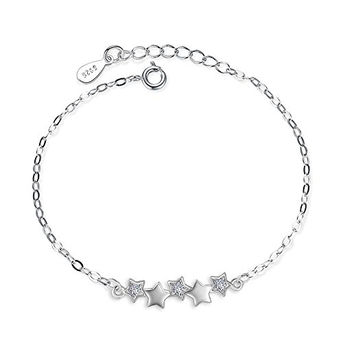 Daeou armbanden voor dames pentagram armband dames zirkoon kristal armband